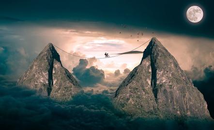 Equilibrio Fantasía Realidad