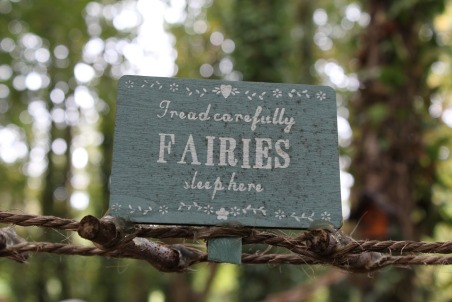 fairies sleep here