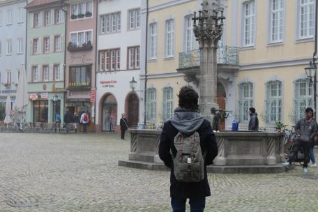 La Fuente del Salmón está en Friburgo