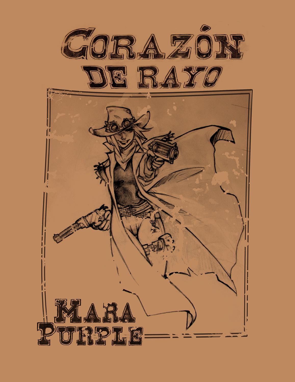 Corazón de Rayo Mara Purple protagonista