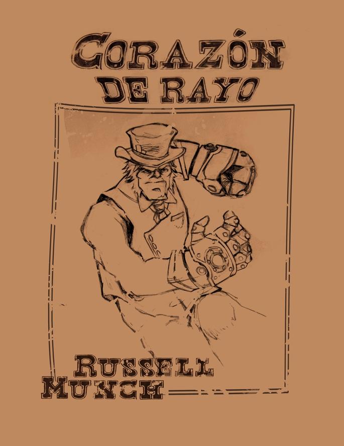 Corazón de Rayo Russell Munch