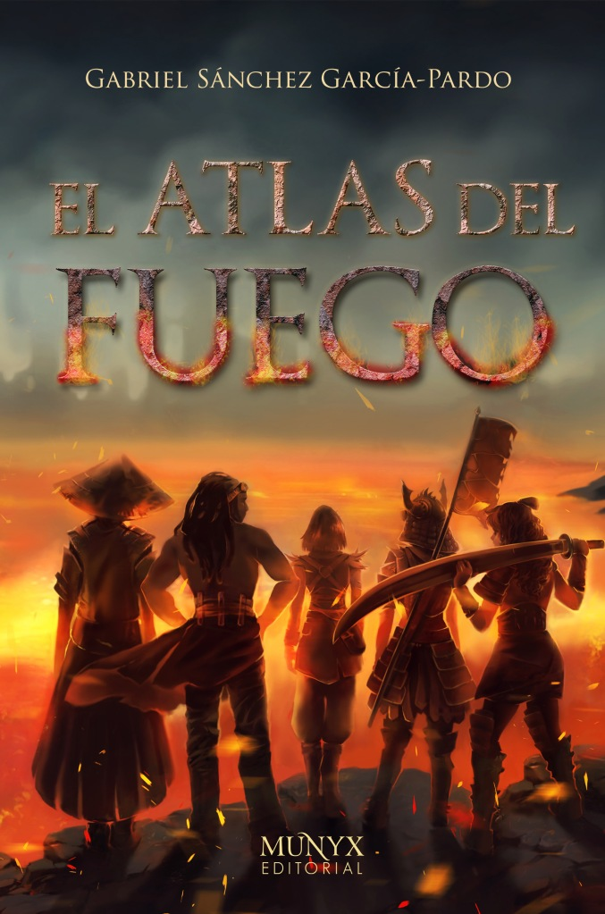 Portada de El Atlas del Fuego de Gabriel Sánchez García-Pardo